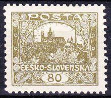 ** Tchécoslovaquie 1918 Mi 21 (Yv 19) Dentelé 10 1/2 - Dentelé Par Etat Semi-oficiel, (MNH) - Neufs
