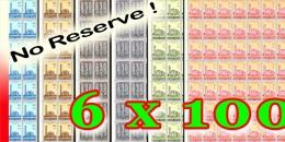 Ruanda 0225/230**  - Cath�drale van Usumbura -MNH- 6 Feuilles / Sheets of 100 -