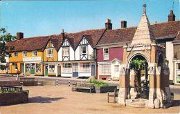 1 AK England * The Market Hill in der Stadt Woodbridge - Grafschaft Suffolk *