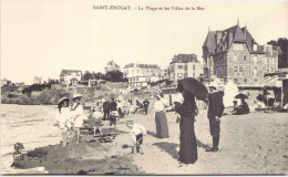Reproduction - SAINT-ENOGAT - La Plage Et Les Villas De La Mer - France