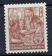 140015116  ALEMANIA  DDR  YVERT Nº   120  **/MNH - [6] República Democrática