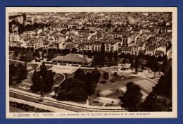 03 VICHY Vue Aérienne Sur Le Quartier De France Et Le Parc D'enfants - Vichy