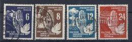 140015133  ALEMANIA  DDR  YVERT  Nº   28/31 - [6] República Democrática