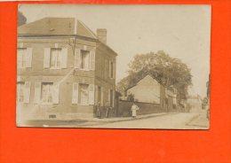 Carte Photo - à Identifier - Maison Quartier (évreux ?) - A Identifier