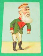 politique - personnages - satiriques - militaire allemand - portrait