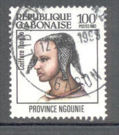 Gabun 1983 - Michel 853 O - Gabun (1960-...)