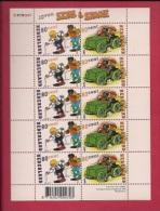 NEDERLAND, 2000, MNH Stamps/sheet ,Comics & Sjors & Sjimmie , NVPH Nr. 1919-1920  F3025 - Blocks & Sheetlets