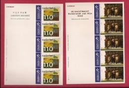 NEDERLAND, 2000, MNH Stamps/sheet Nightwatch & Landscapes,  NVPH Nr. 1907-1908  F3028 - Blocks & Sheetlets