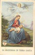 Santino - Holy Card - Madonna Di Terra Santa - Images Religieuses