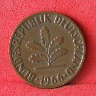 GERMANY FEDERAL REPUBLIC  2  PFENNIG  1966 G   KM# 106  -    (Nº08143) - [ 7] 1949-…: BRD