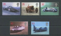 Gde BRETAGNE 1998 N° 2056/2060 ** Neufs = MNH Superbes Cote 9,50 € Vitesse Automobiles Voitures Cars Bluebird Sport - 1952-.... (Elizabeth II)