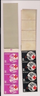 NEDERLAND, 1972, MNH Stamps/booklet , Red Cross, NVPH Nr. PB 1016-1019 F3085 - Booklets