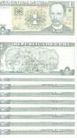lot de 10 billets 1 peso 2009 NEUFS