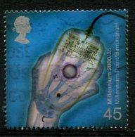 Great Britain 2000 45p X-Ray Image  Issue #1924 - 1952-.... (Elizabeth II)