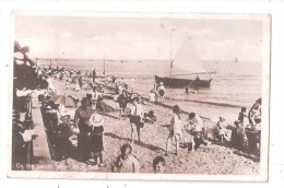 RP ON THE SANDS WESTCLIFF ON SEA ESSEX USED 1927 YACHT BOAT YACHTING SENT TO BARNARD HILL COLNEY HATCH LANE MUSWELL HILL - Southend, Westcliff & Leigh