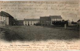 BRABANT    2 CP Orp Place Communale 1906    Château De Tongerloo De St Hubert   1905 - Orp-Jauche