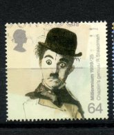 Great Britain 1999 64p Chaplin Issue #1862 - 1952-.... (Elizabeth II)