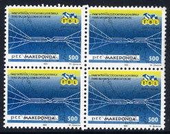 MACEDONIA 1993 Ilinden Rising Stamp And Block  MNH / **.  Michel 15, Block 1 - Macedonia