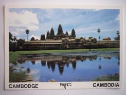 Asie - Cambodge ( Siem Reap - Angkor Wat Reflected The Holy Pond Of Precnet (2 Scann) - Kambodscha