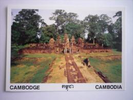 Asie - Cambodge ( Siem Reap - Whole View Of Banteay Srei (2 Scann) - Kambodscha