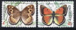 MACEDONIA 1996 Butterflies MNH / **.  Michel 89-90 - Macedonia
