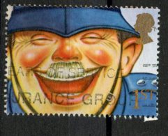 Great Britain 1991 1st Laughing Policeman Issue #1369 - 1952-.... (Elizabeth II)