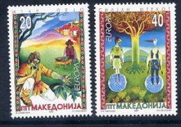 MACEDONIA 1997  Europa: Tales And Legends  MNH / **.  Michel 102-03 - Macedonia