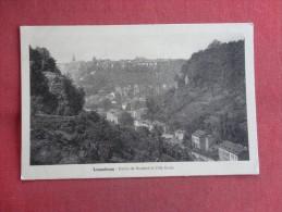 > Luxembourg-- Partie De Neudorf Et  Ville Haute ----ref 1481 - Andere