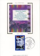 CARTE MAXIMUM CINEMA LINO VENTURA 1er Jour 3 10 1998. - Cartes-Maximum