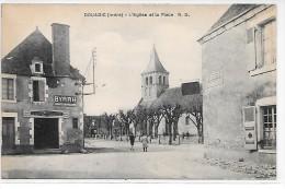 DOUADIC - L´Eglise Et La Place - France