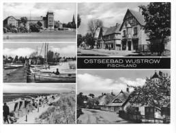 Ostseebad Wustrow, Fischland, Mehrbildkarte. Normalformat - Fischland/Darss