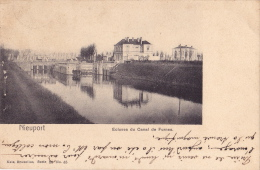 NIEUPORT / NIEUWPOORT : écluses Du Canal De Furnes - Nieuwpoort