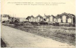 02/CPA - Soissons Bombardé - Faubourg St Waast - Aspect Des Ruines Des Magasins Généraux - Route De Béthune - Soissons