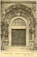 89/CPA - Vermenton - Portail De L'Eglise - Vermenton