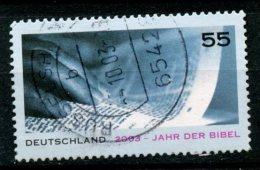 Germany 2003 55pf Bilel Year Issue #2225 SON - [7] Federal Republic