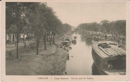 Asie  :  CHOLON  :  Canal   Bonnard  , Vue  Du Pont  De   Palikao - Viêt-Nam
