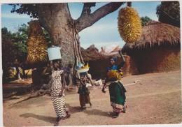 AFRIQUE,AFRICA,Sénégal,fe Mme,soeur,enfant,famille, Départ Pour Le Marché,going To Market,rare - Sénégal