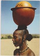CAMEROUN,CAMEROON,ancienn E Colonie Allemande Gérée Par Les Français,prés Nigeria,tchad,femme Tatouée,équilibriste,rare - Cameroun
