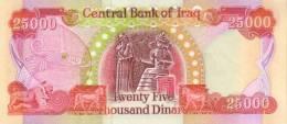 IRAQ P. 96d 25000 D 2010 UNC