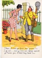 """Pêche.. Pêcheurs.. Humour.. """"Mais Il Est Pas Frais Ton Poisson..."""".. épuisette.. Cannes à Pêche - Fishing"""