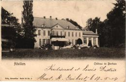 BRABANT  1 CP Hévillers  Château De Bierbais Nels 79 N°5  1904 - Mont-Saint-Guibert