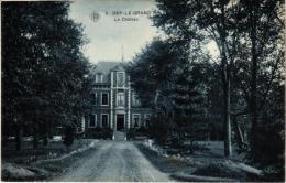 BRABANT   2 CP Orp Le Grand Le Château 1907   Eglise   1906 - Orp-Jauche