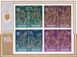 Aitutaki 1976 Christmas, Charity, Souvenir Sheet MNH - Aitutaki