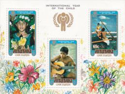 Aitutaki 1979 International Year Of The Child, Charity, Souvenir Sheet MNH - Aitutaki