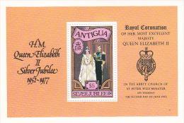 Antigua 1977 Queen Elizabeth Silver Jubilee Souvenir Sheet MNH - Antigua And Barbuda (1981-...)