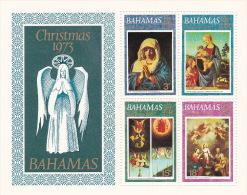 Bahamas 1973 Christmas Souvenir Sheet MNH