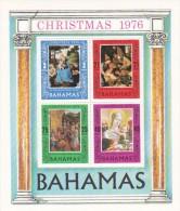 Bahamas 1976 Christmas Souvenir Sheet MNH