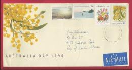 AUSTRALIA, 1990, Addressed Cover, Antarctic Territories,  F2372 - Postal Stationery