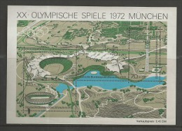 GERMANY, 1972, MNH Stamps/block, Olympic Games Munchen,   F2377 - [7] Federal Republic