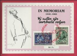 BELGIUM, 1963, Cancelled Stamps/block, E Van Der Velde,    F2390 - Documents Of Postal Services